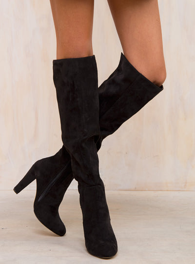 Lipstik Black Sweep Boots