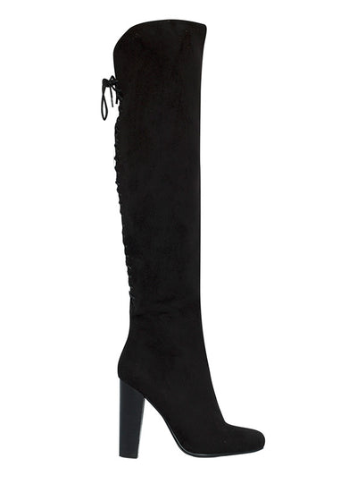 Billini Black Suede Evan Boots