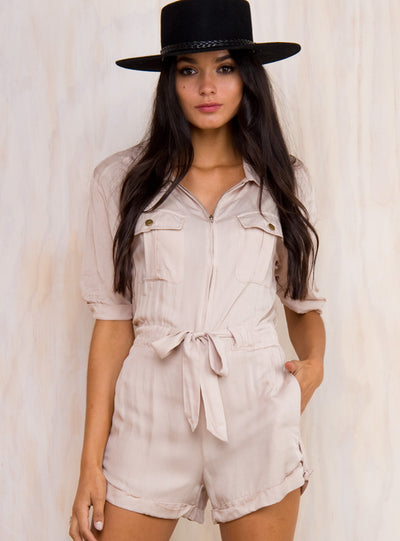 Railroads Playsuit