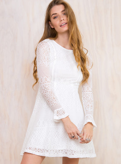 Minkpink Bittersweet Lace Dress