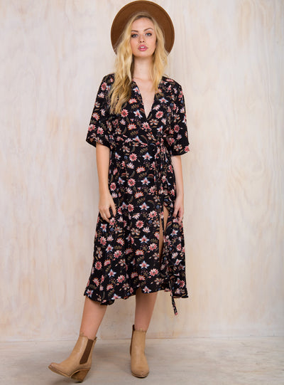 Unusual Hearts Maxi Dress