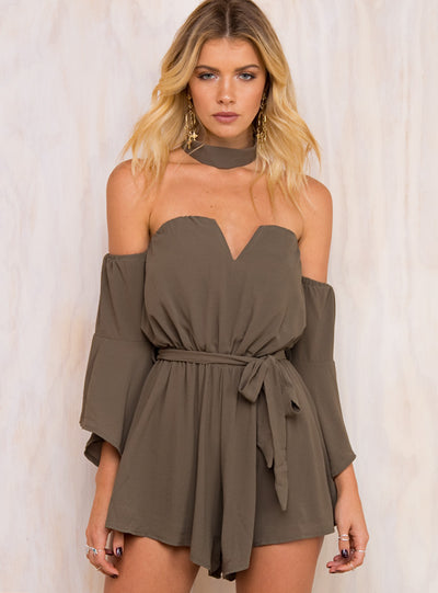 East Bay Night Playsuit