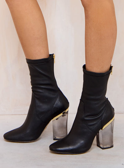 Windsor Smith Black Vinyl Boots