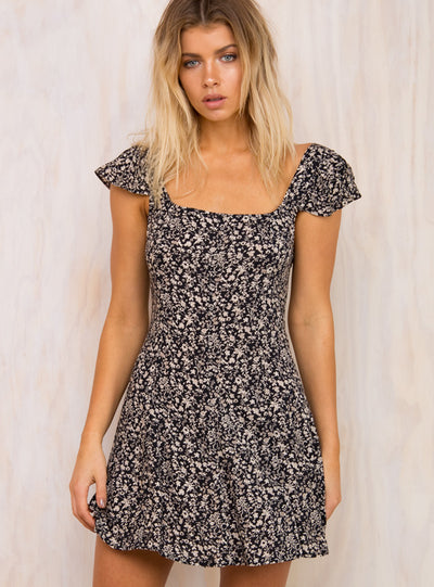 Mayfield Floral Mini Dress