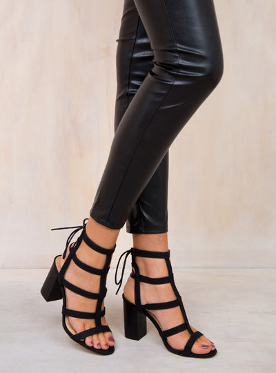 Billini Black Rezzy Heels