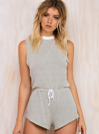Afends Compton Playsuit