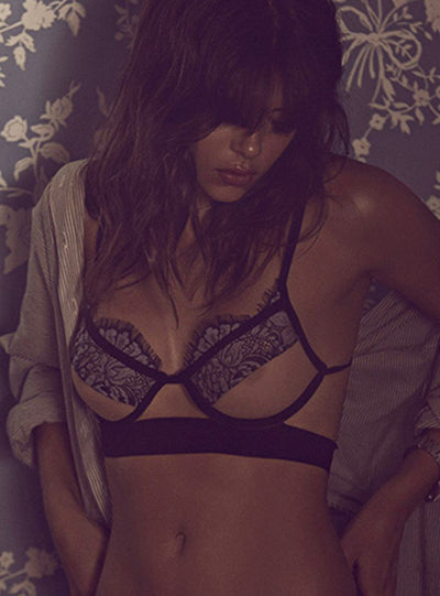 For Love & Lemons Loucette Demi Bra