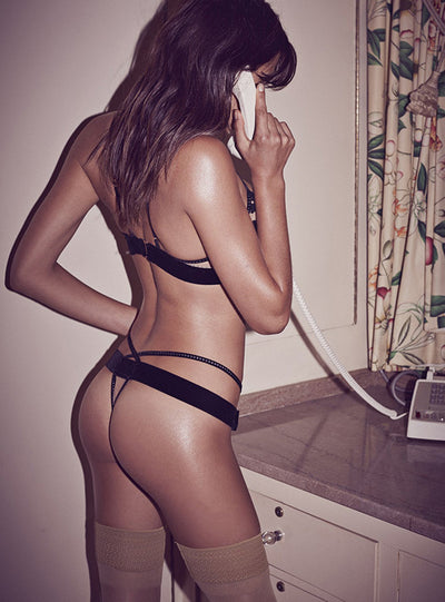 For Love & Lemons Rylee Rose Thong