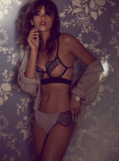 For Love & Lemons Loucette Demi Brief