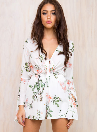 The Morris Floral Playsuit