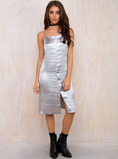Evil Twin Dissolve Shimmer Slip Dress