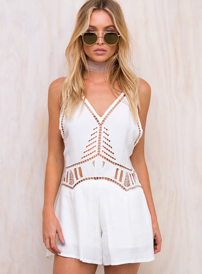 Savannah Cut Out Playsuit