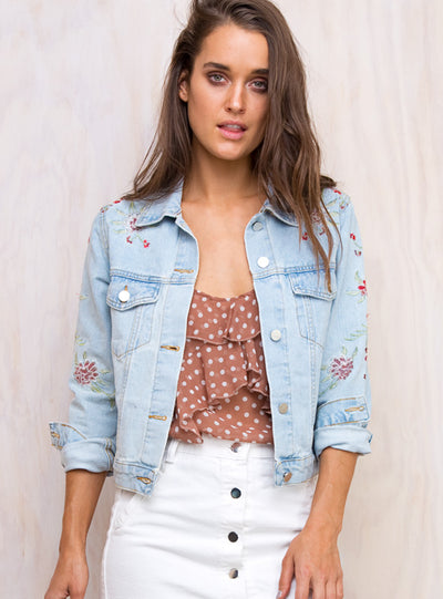 Secret Garden Denim Jacket