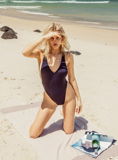 Frankie Swim Crawford Bodysuit Midnight