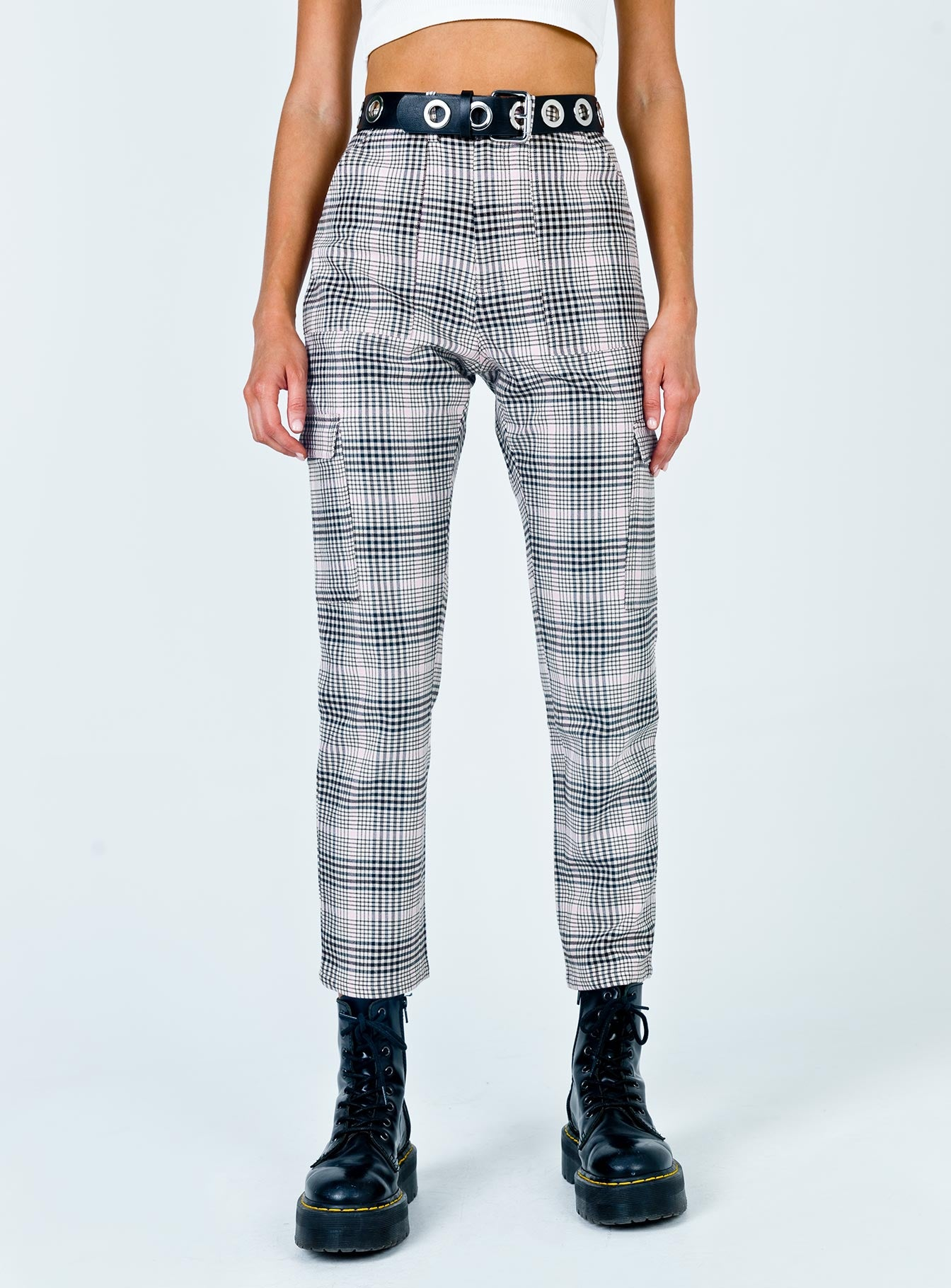 TWIIN Pace Yourself Pant Multi Grey