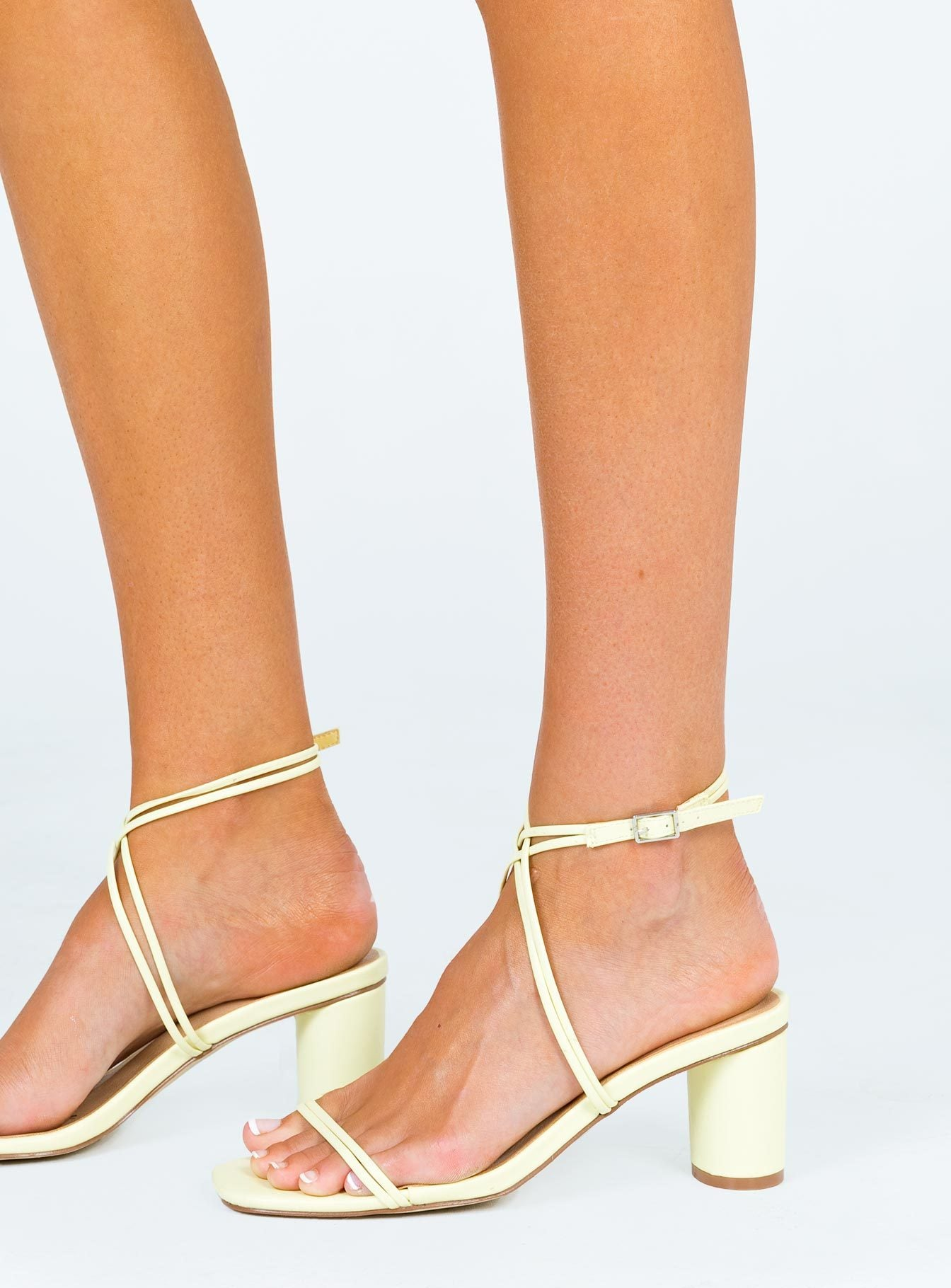 Therapy Stunna Yellow Heels