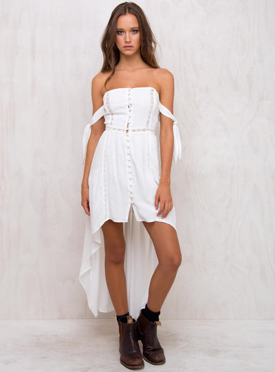 Emily's Song Off The Shoulder Dress