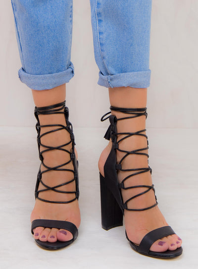 Billini Black Jacey Heels