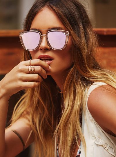 Quay Clear French Kiss Sunglasses