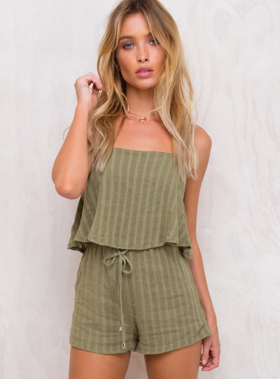 Falling Into Grace Romper