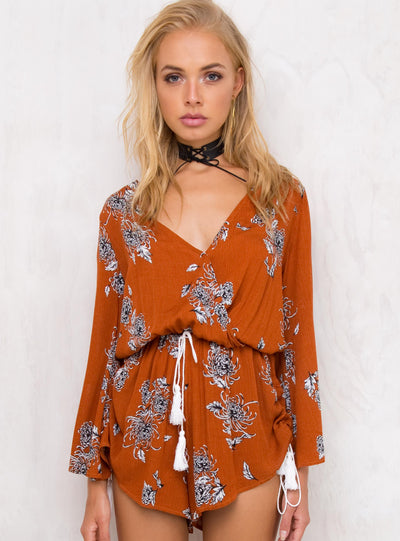 Lake Of Fire Playsuit