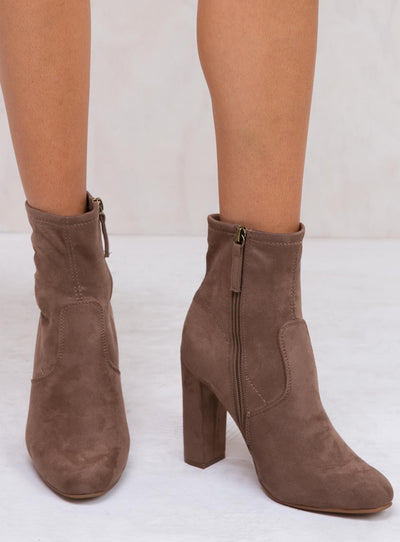 Therapy Taupe Zeller Boots