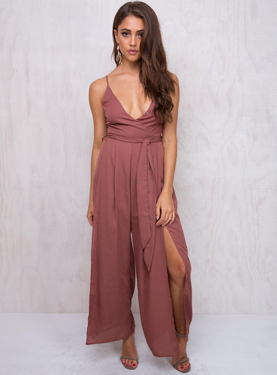 Little Genie Split Leg Jumpsuit