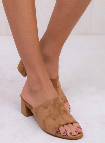 Therapy Tan Garnett Mules