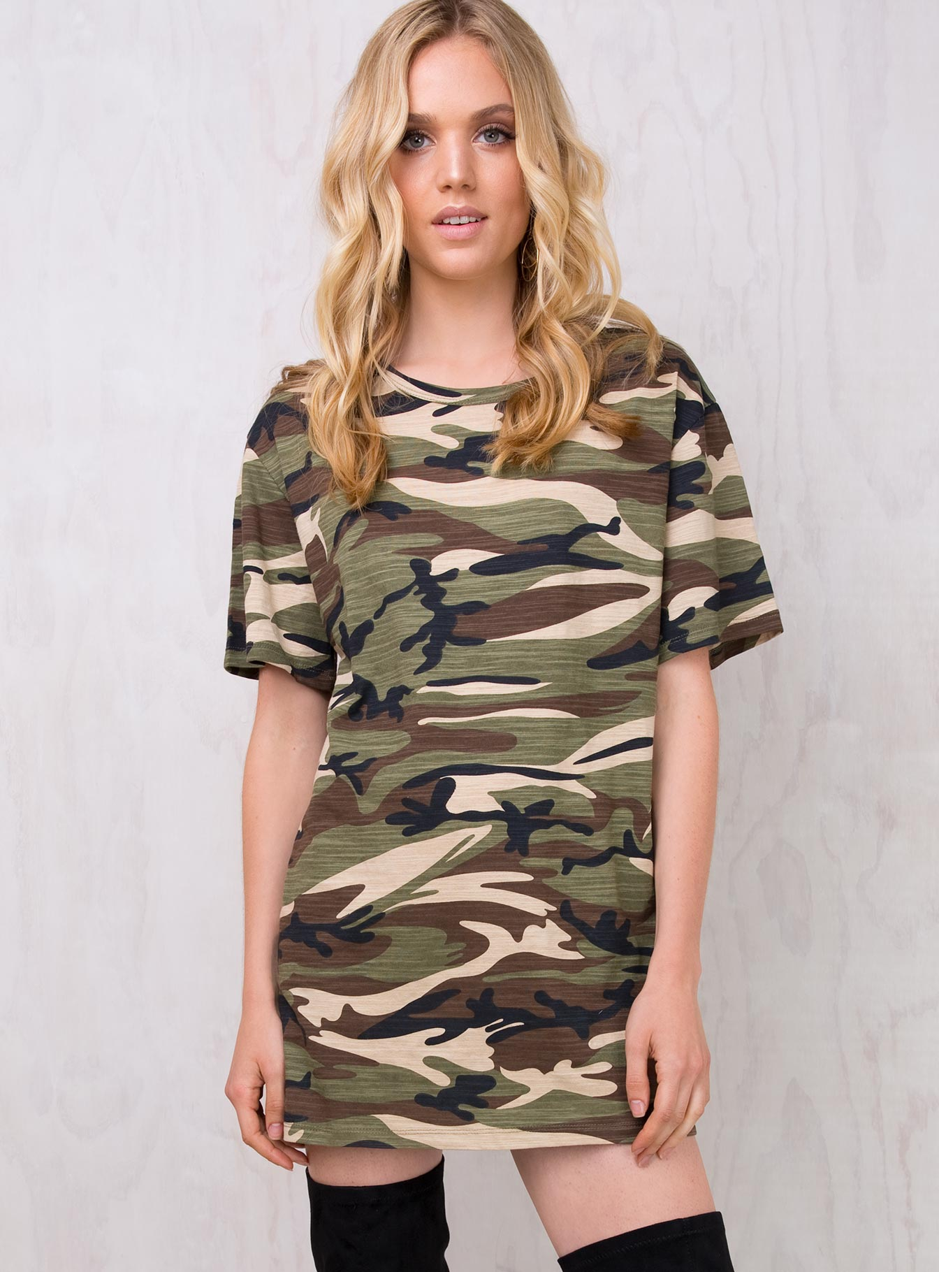 Hide & Seek T-Shirt Dress