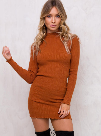 Treacle Knit Mini Dress