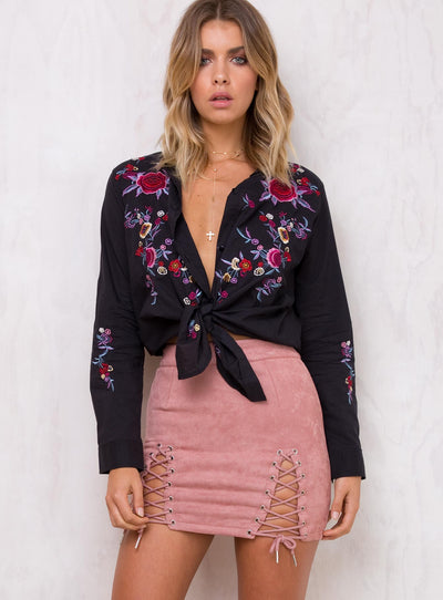 Runaway Bromley Mini Skirt