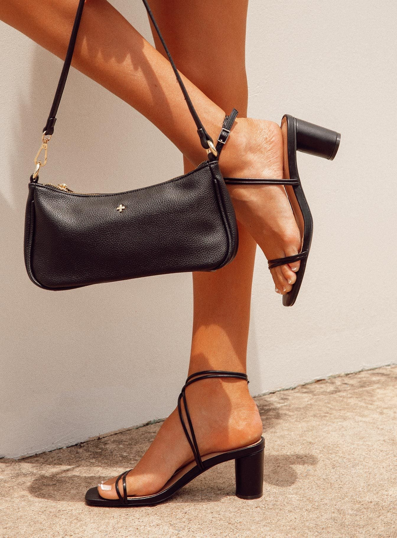 Therapy Stunna Black Heels