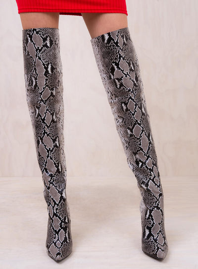 I.AM.GIA Viper Thigh High Boots