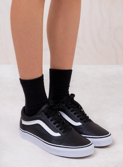Vans Classic Tumble Black Old Skool