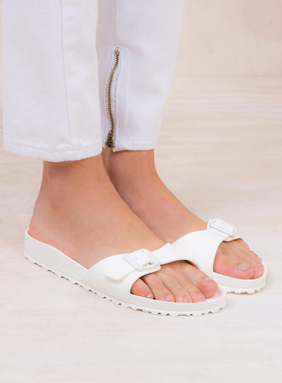Birkenstock Madrid EVA White Narrow