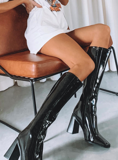 The Jessa Boots Black