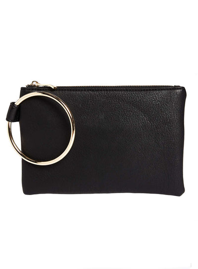 Peta And Jain Black Coco Clutch