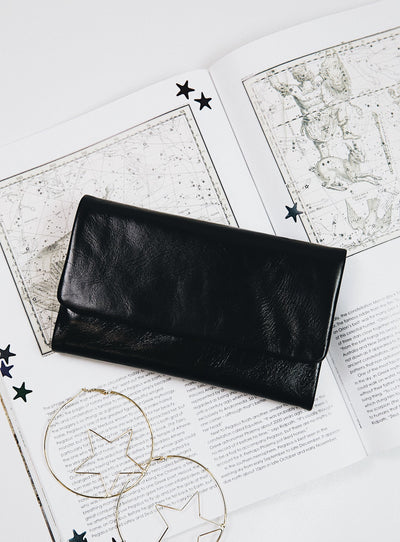 Status Anxiety Black Audrey Wallet