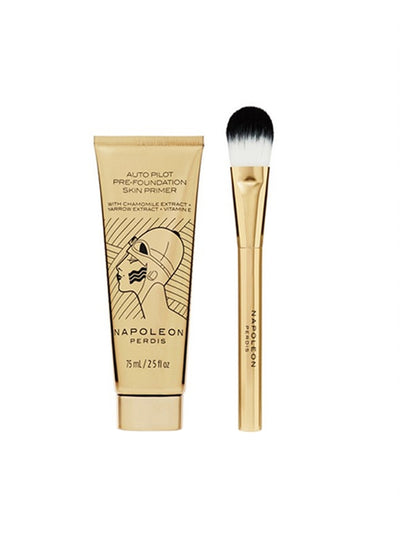 Napoleon Perdis Signature Auto Pilot Skin Primer + Foundation Brush
