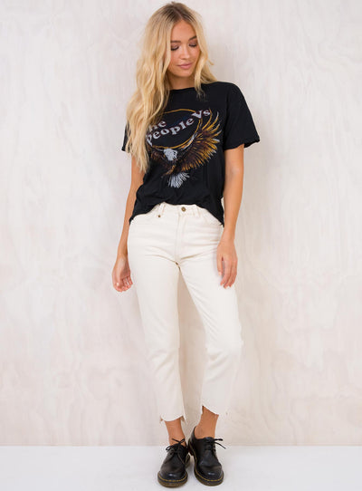 Thrills Bone White Thelma Jeans