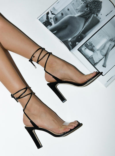 Therapy Black Suede Balboa Heels