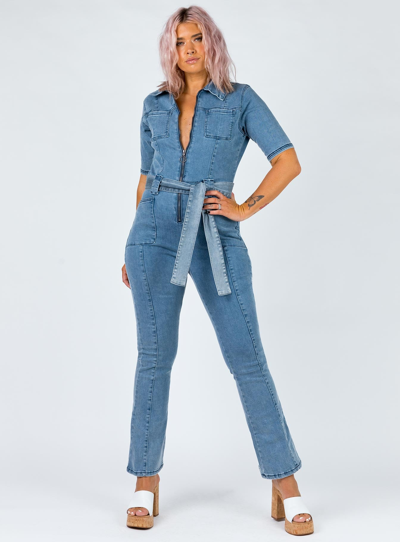 Fawcett Denim Jumpsuit