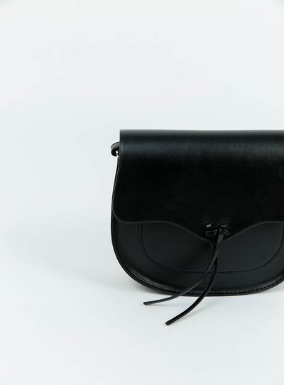 Therapy Black Rosie Handbag