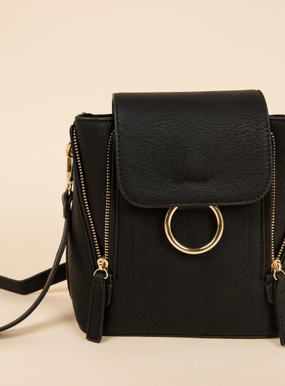 Peta And Jain Black Kiki Bag