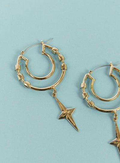 Minc Collections Summer Hoops Gold