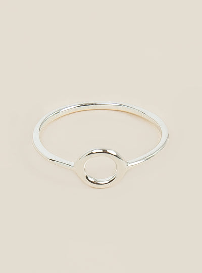 Midsummer Star Alumen Circle Ring
