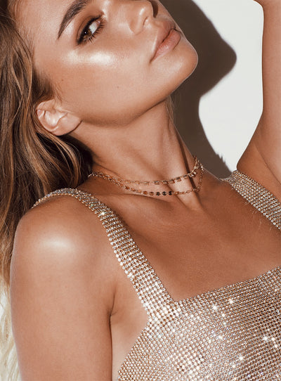 Minc Collections Gold City Lights Choker