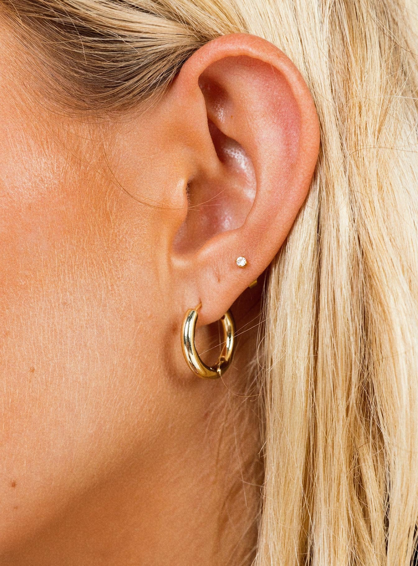 The Classic Hoop Earrings