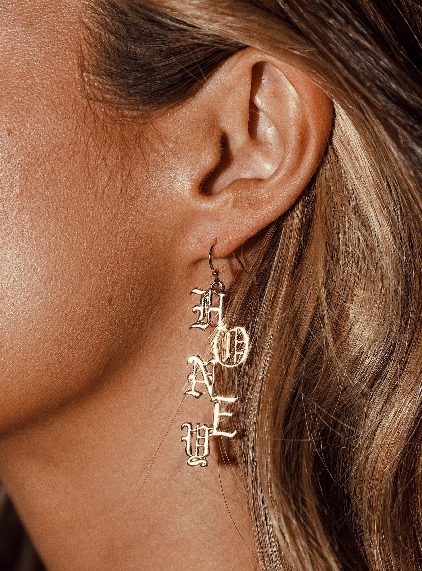 Jordana Honey Earrings