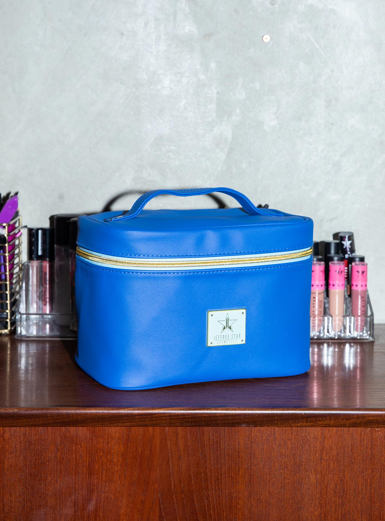 Jeffree Star Cosmetics Dark Blue Travel Bag